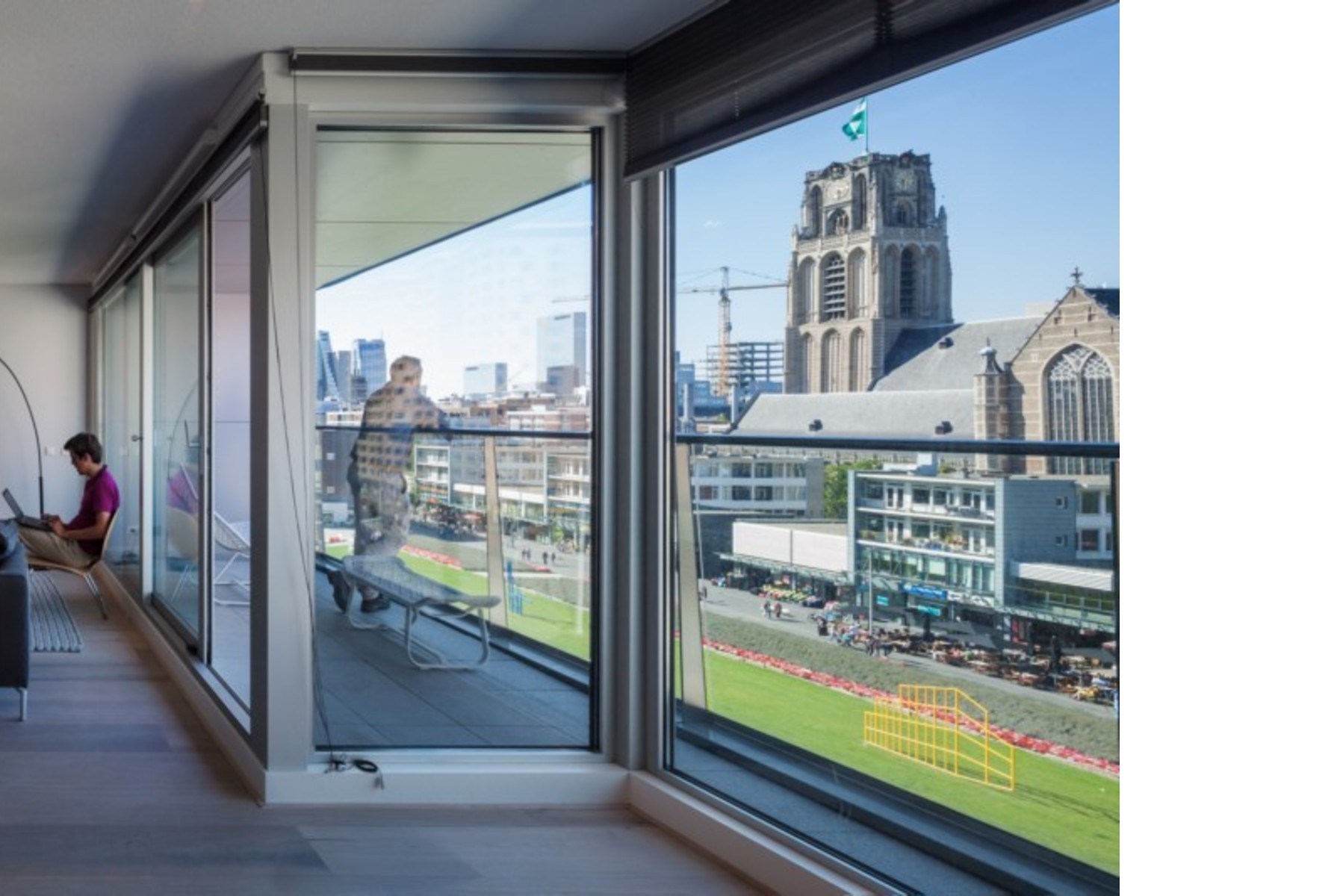 Mvrdv markthal mercato coperto e appartamenti a rotterdam for Vendita appartamenti amsterdam