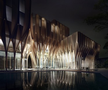 Zaha Hadid Architects Sleuk Rith Institute, Cambogia