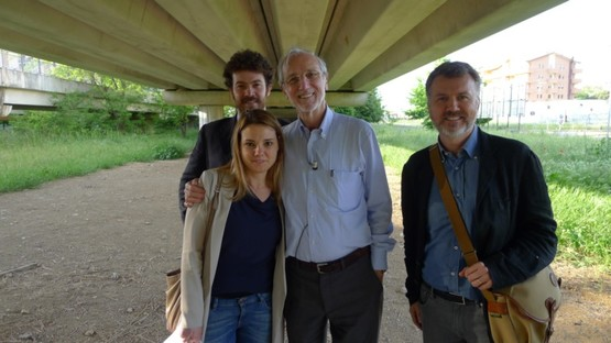 Francesco Lorenzi, Eloisa Susanna, Renzo Piano, Massimo Alvisi