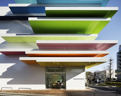 Sugamo Shinkin Bank Series di Emmanuelle Moureaux Architecture + Design