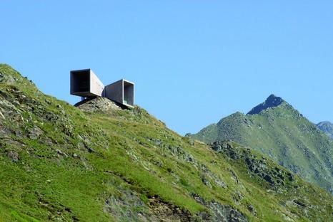 Die Timmelsjoch Erfahrung di Werner Tscholl Architekt