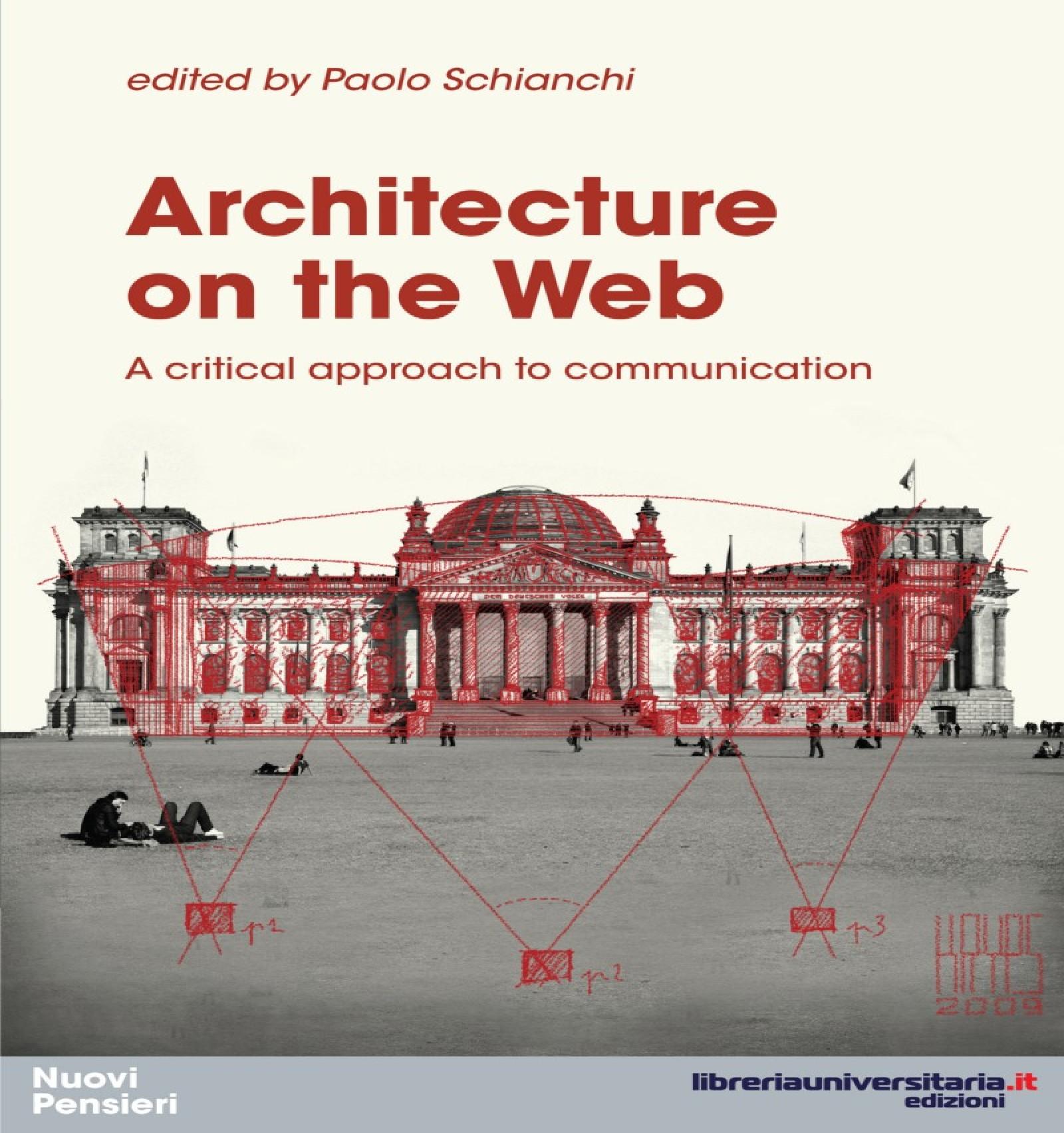 Libro ARCHITECTURE ON THE WEB a cura di Paolo Schianchi