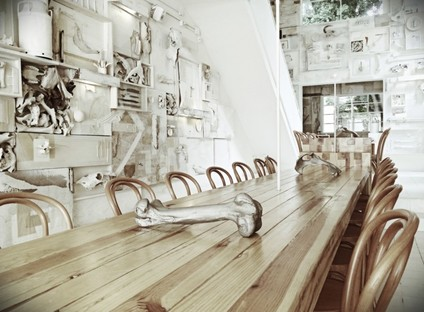 """Hueso"", il concept restaurant dei messicani Cadena Asociados"