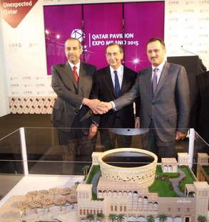 Il Padiglione del Qatar per Expo Milano 2015