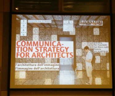 Convegno a Venezia L'architettura dell'immagine - l'immagine dell'architettura