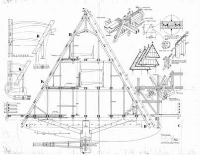 Rifugio Carlo Mollino - Progetto Casa Capriata 1954 - 2014