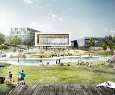 Il progetto di C.F.Møller vince il concorso per l'ampliamento del CBS