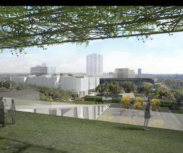 Steven Holl e Lake|Flato Architects  per il Museum of Fine Arts Houston
