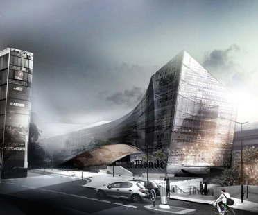 Snøhetta presenta il progetto per Le Monde Headquarters Parigi