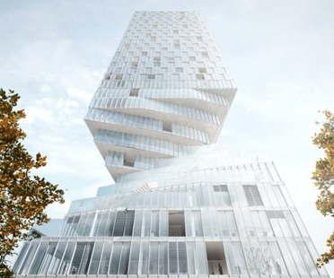 MVRDV vince la competizione per la realizzazione del Turm Mit Taille a Vienna