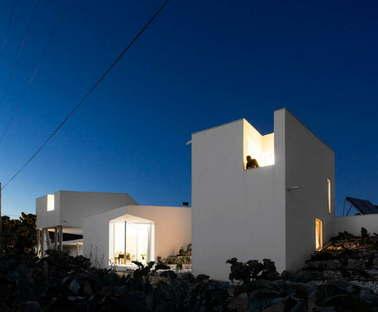 Contaminar Arquitectos architettura residenziale Texugueira House