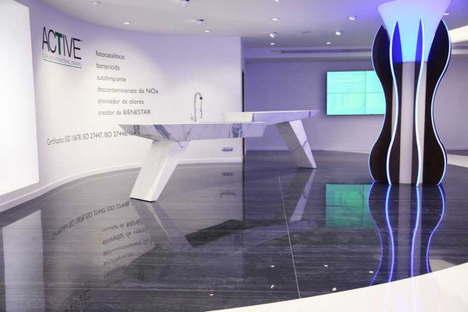 Inaugurazione MAE Sala Mostra  Matimex in Spagna