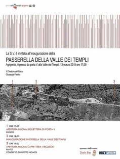 Cottone + Indelicato Architects Passerella della Valle dei Templi Agrigento
