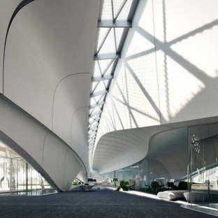 MIR Creative Studios animazione di Bee'ah Headquarters Zaha Hadid Architects