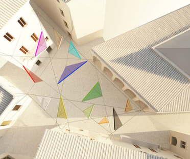 Alvisi Kirimoto + Partners Piazza Faber Tempio Pausania Sardegna