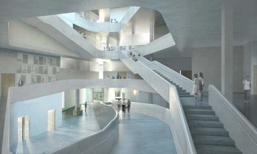 Steven Holl Architects Arts Building University of Iowa