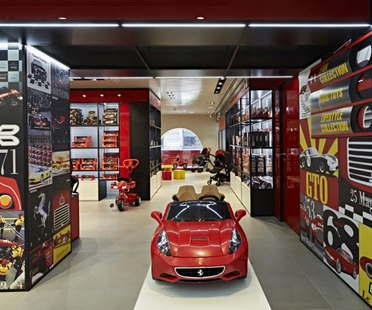 Massimo Iosa Ghini Ferrari Flagship Store Milano