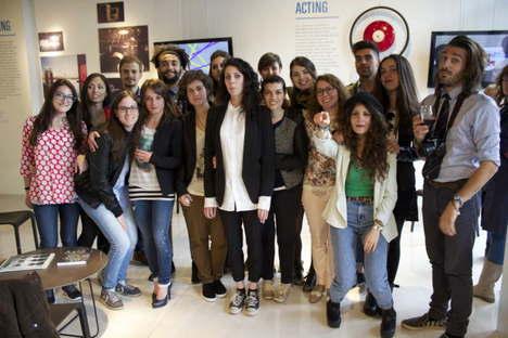 nuova corporate identity SpazIOFMG Eventi Fuorisalone 2015