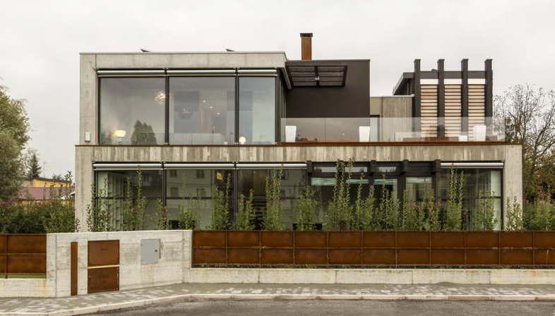Giraldi Associati Architetti Residenza Unifamiliare Casa Santi