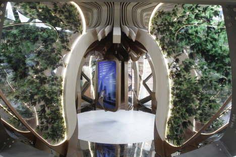 Simmetrico Padiglione Azerbaijan Expo Milano 2015