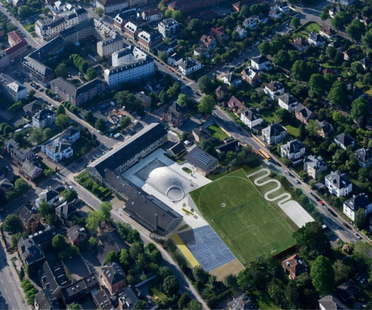 BIG Ampliamento sport e arti Gammel Hellerup Gymnasium
