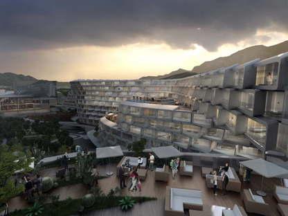 Zaha Hadid  Esfera City Center  Monterrey, Messico