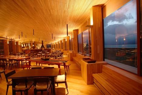 Cazú Zegers  Tierra Patagonia Hotel o Hotel del Viento Cile