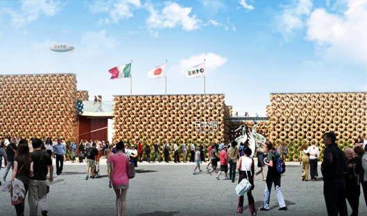 Atsushi Kitagawara Padiglione Giappone Expo Milano 2015
