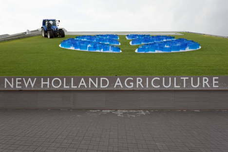Sustainable Farm Pavillon New Holland Agriculture Expo Milano 2015