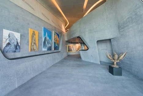 MMM Corones di Zaha Hadid live dall'opening
