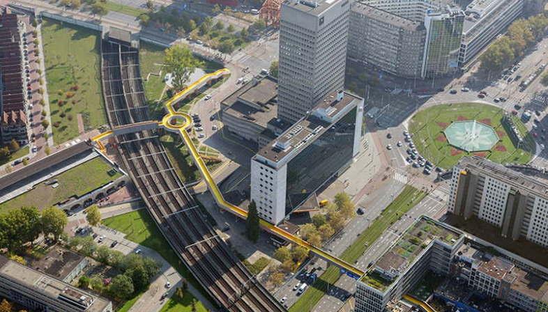 ZUS The Luchtsingel Rotterdam prima infrastruttura crowdfunding