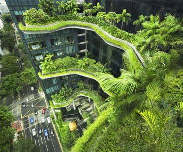 Woha PARKROYAL on Pickering Singapore vince CTBUH Urban Habitat Award 2015