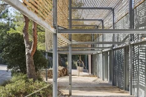 PAN Architecture EEA Extension de l'École d'Architecture Marsiglia