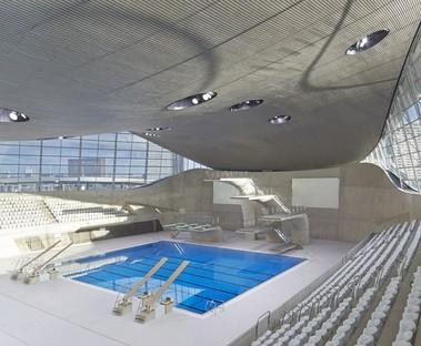 Zaha Hadid London Aquatics Centre photo by Hufton + Crow