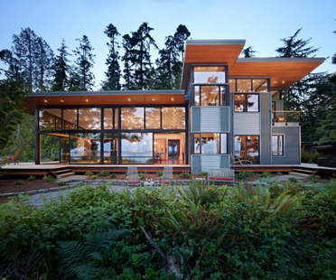 Port Ludlow Residence di Finne Architects