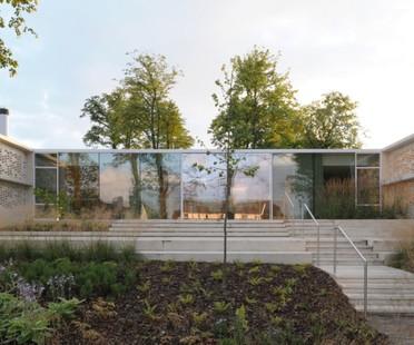 Reiach and Hall Architects Maggie's Lanarkshire Scozia
