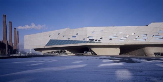 Phaeno Science Centre photo by Werner Huthmacher