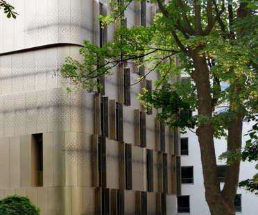VIB Architecture Alloggi studenti asilo rue Ménilmontant Parigi