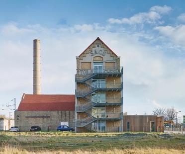 Coldefy CAAU ristrutturazione e ampliamento ex filanda Dunkerque