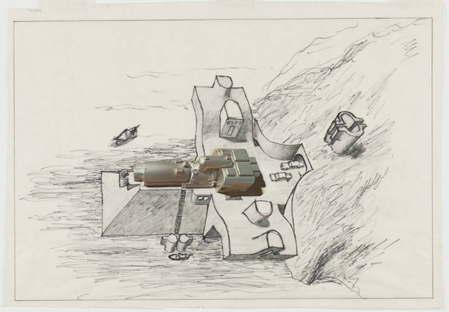 Hans Hollein. Beach House.The MoMA. Philip Johnson Fund. © 2015 Hans Hollein