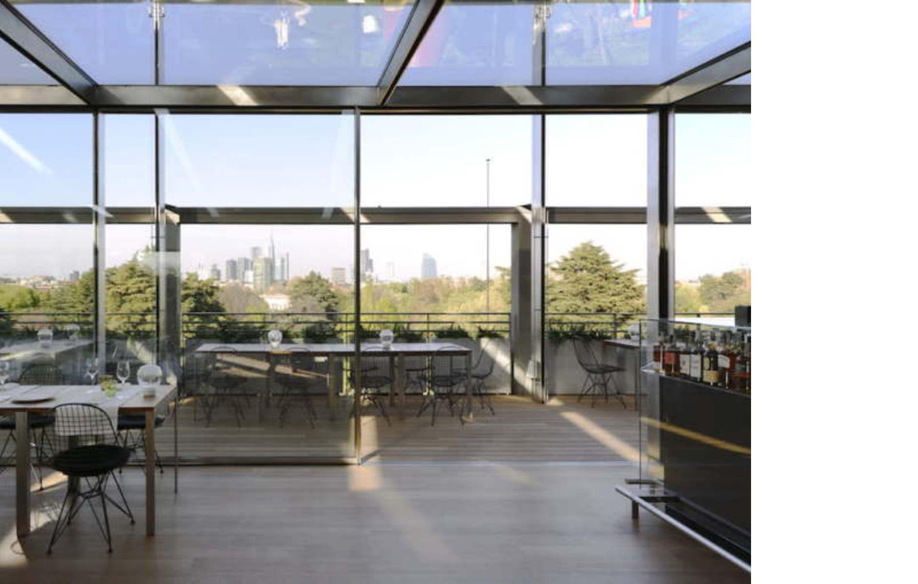 Obr ristorante terrazza triennale milano floornature for Viale alemagna 6 milano