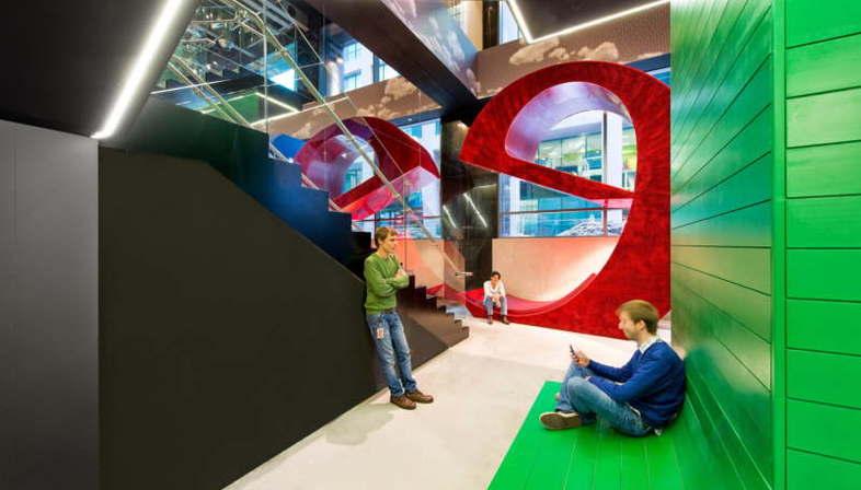 Il campus di Google a Dublino realizzato da Evolution Design