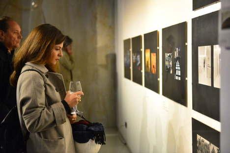 mostra Nanda Vigo Opere abitate da opere a SpazioFMG