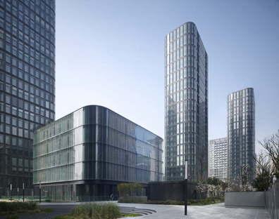 gmp Dayuan International Center a Chengdu Cina