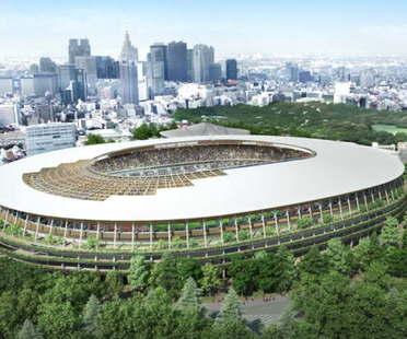 Kengo Kuma Progetta Stadio Olimpico Tokyo sostituisce Zaha Hadid