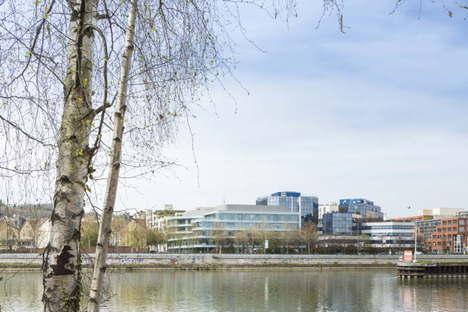 Atelier Zündel Cristea sede sociale Pacemar a Suresnes Parigi