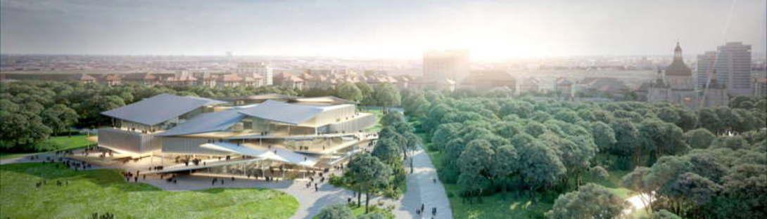 SANAA New National Gallery e Ludwig Museum Budapest