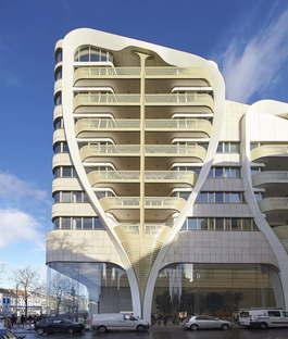 UNStudio Le Toison d'Or residenze e negozi a Bruxelles