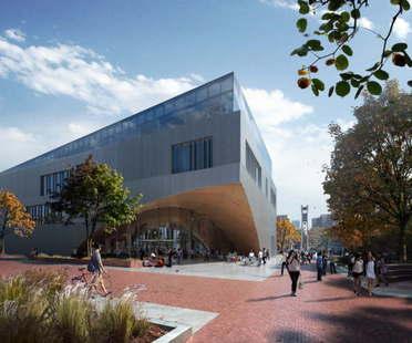 Snøhetta Progetto Biblioteca Temple University Philadelphia