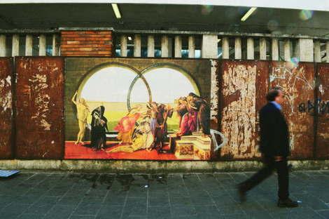 RoBoCoop: tra street art, pittura classica e architettura
